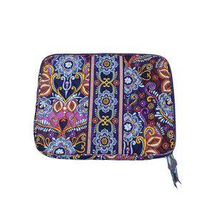 Vera Bradley Women's Iconic Floral Laptop Sleeve